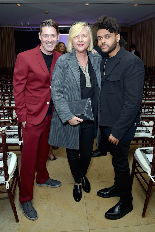 Eddie Roche, Brandusa Niro, The Weeknd