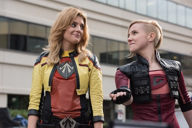 "Hannah Hart and Grace Helbig star in a reboot of ""Electra Woman & Dyna Girl"""
