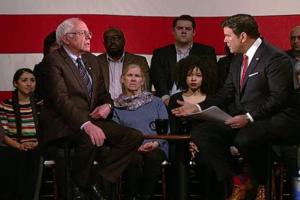 Fox news town hall with Bernie Sanders