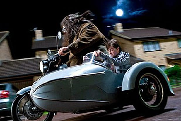 Harry Potter Hagrid's Motorcycle