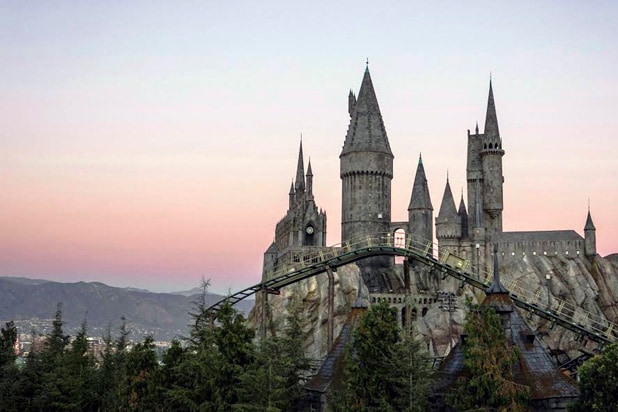 Harry Potter Flight of the Hippogriff Ride
