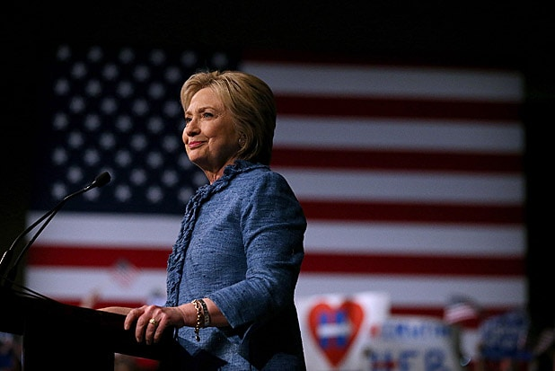Hillary Clinton Primary Night Event In Florida