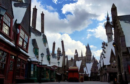 Hogsmeade at Universal Studios Hollywood