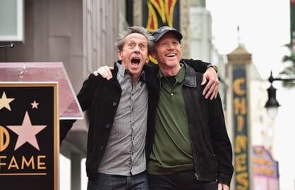 Brian Grazer, Ron Howard Support Screening Room
