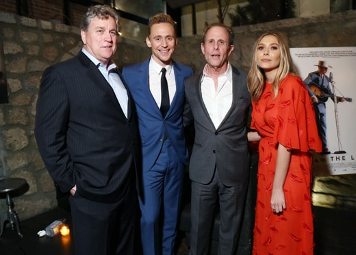Tom Bernard, Marc Abraham, Tom Hiddleston, Lizzie Olsen I Saw the LIght