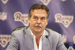 Los Angeles Rams Coach Jeff Fisher