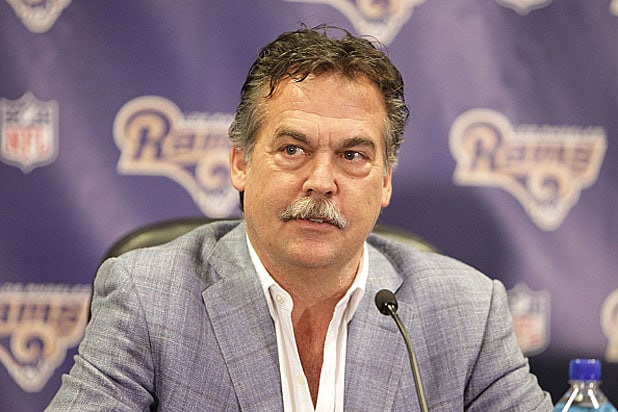 Los Angeles Rams Coach Jeff Fisher
