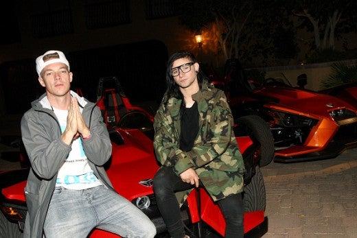 Diplo Skrillex Jeremy Scott Coachella 2015