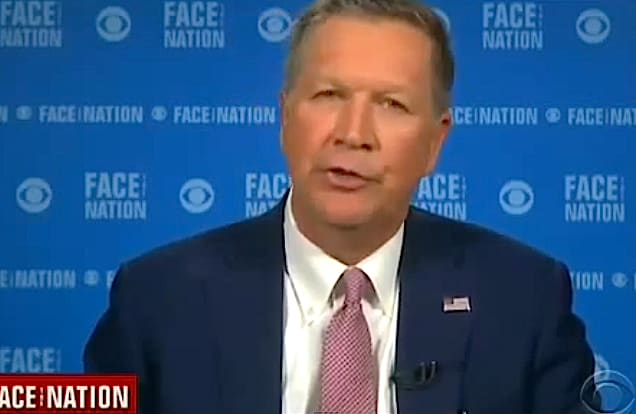 John Kasich on Face the Nation