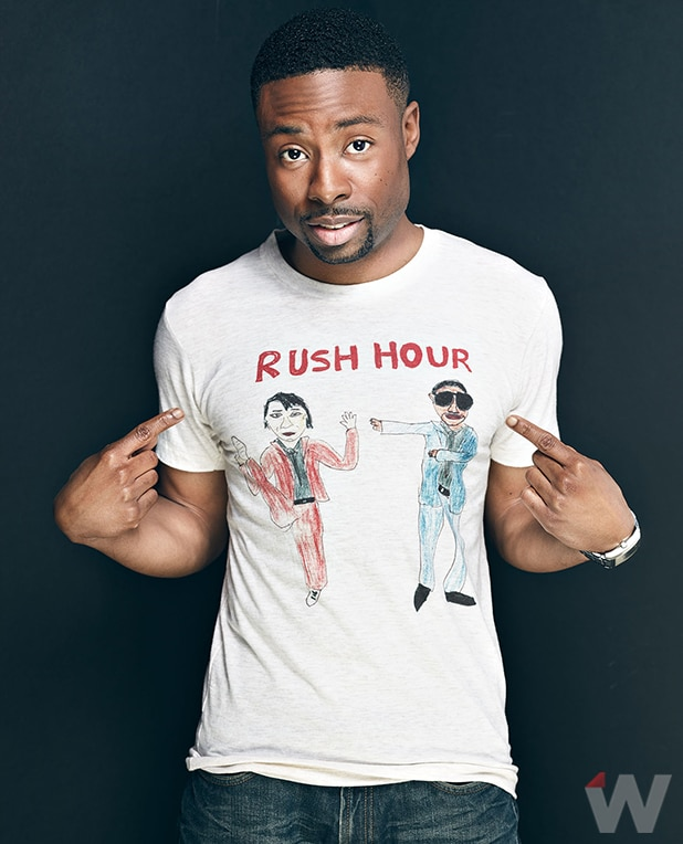 Rush Hour Star Justin Hires