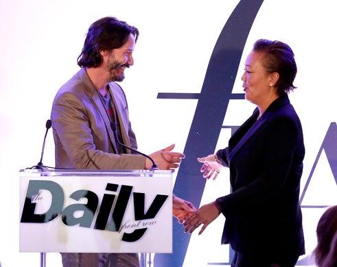 Keanu Reeves Stylist Jeanne Yang