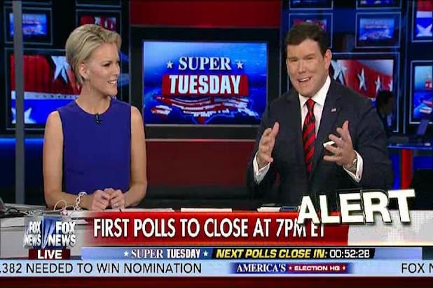 megyn kelly bret baier fox news cable ratings