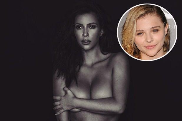 Kim Kardashian Naked and Chloe Grace Moretz