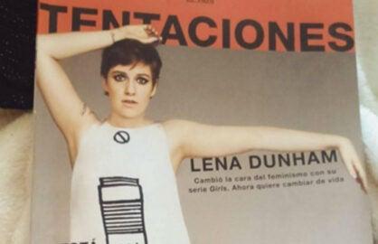Lena Dunham El Pais cover