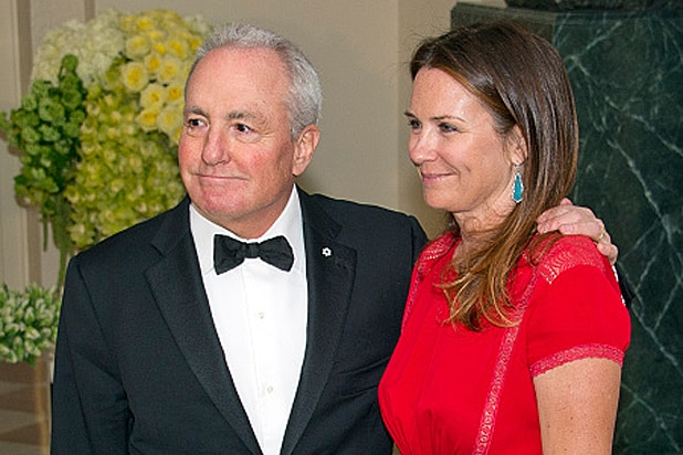 Lorne Michaels and Alice Michaels at White House State Dinner