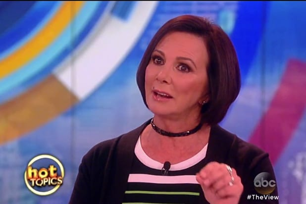 Marcia Clark The View