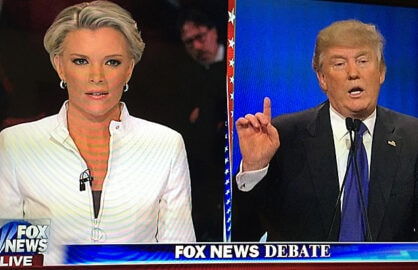 Megyn Kelly and Donald Trump March GOP Debate