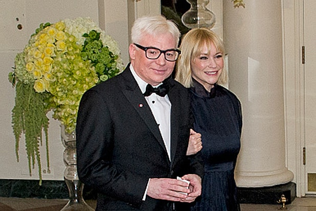 Mike Myers and Kelly Myers at White House State Dinner