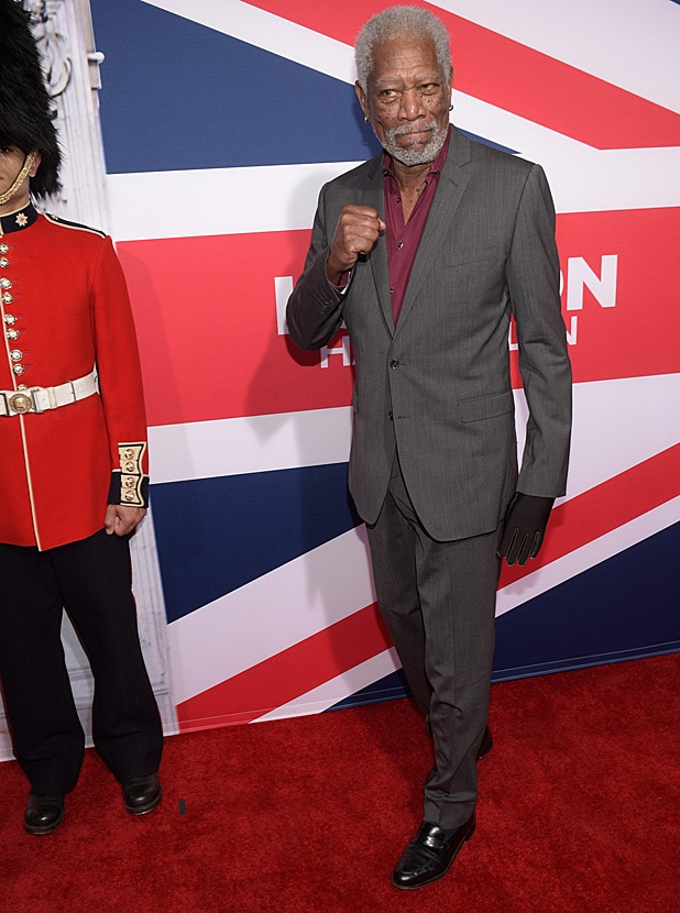 Morgan Freeman/ Getty Images