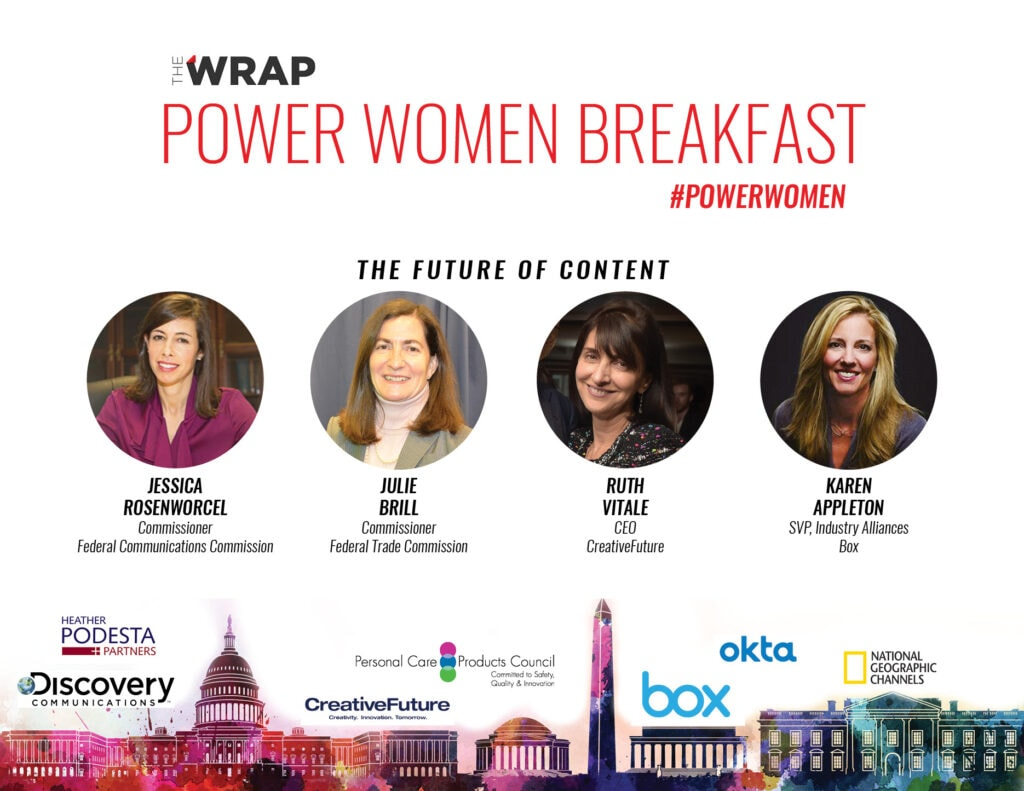 Power Women Breakfast DC Panel Speakers