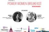 Power Women Breakfast DC Speakers 1
