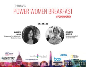 Power Women Breakfast DC Speakers 1