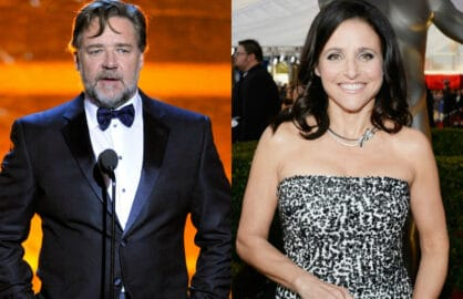 Russell Crowe Julia Louis Dreyfus
