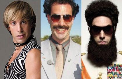 Sacha Baron Cohen Personas