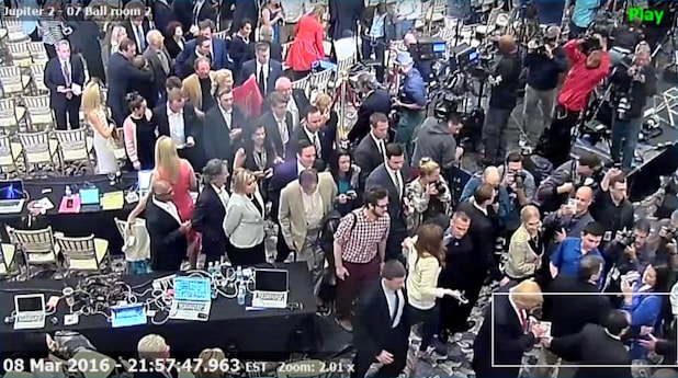 Jupiter police video shows Lewandowski grabbing Fields' Arm