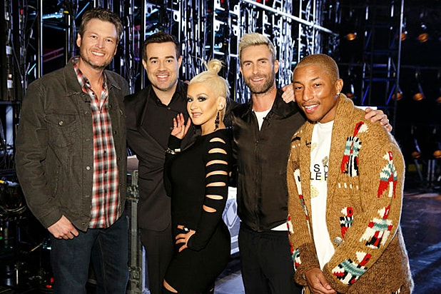 """The Voice"" Season 10 hosts/ NBC"