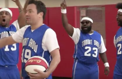 Jimmy Fallon The Roots Play Harlem Globetrotters