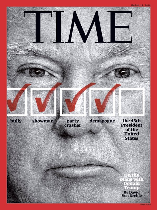 Time Mag Donald Trump Cover