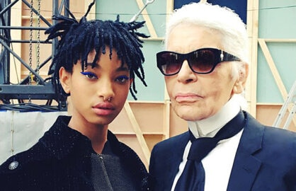 Willow Smith Chanel Karl Lagerfeld