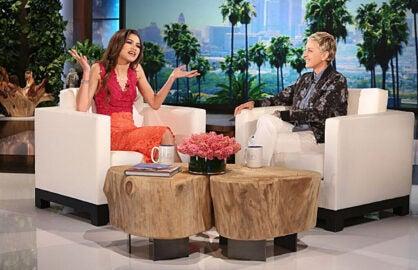 Zendaya on Ellen DeGeneres
