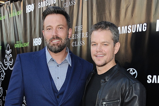 Showtime picks up pilot from Ben Affleck and Matt Damon