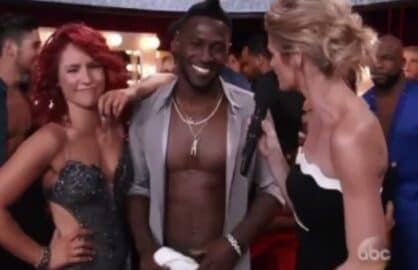 antonio brown erin andrews dancing with the stars