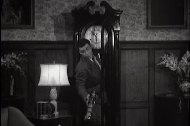 batman 1943 grandfather clock