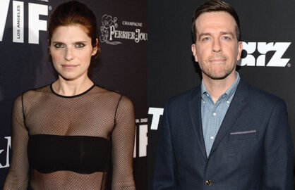 Lake Bell Ed Helms in Whats The Pint