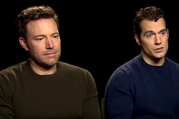 ben-affleck-henry-cavill on Batman v Superman reviews