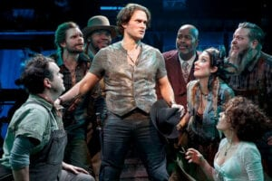 Steven Pasquale and Co. in The Robber Bridegroom
