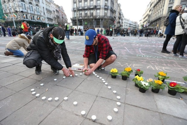 brussels tributes