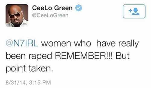 cee lo green tweet