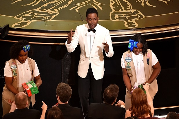 chris rock girl scouts oscars