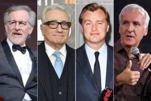 Scorsese Spielberg Nolan Cameron