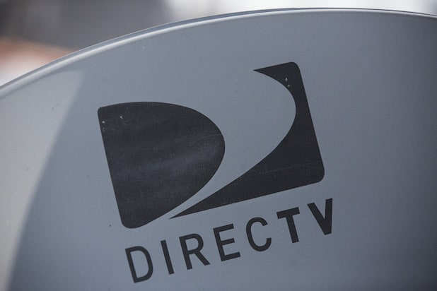 DirecTV logo on a satellite dish