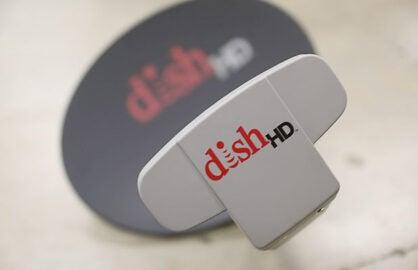 A Dish satellite