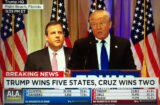 donald trump chris christie super tuesday