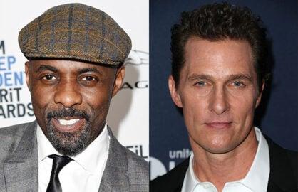 "Elba, McConaughey confirmed for ""Dark Tower"""