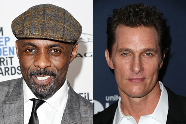 "Elba, McConaughey confirmed for ""Dark Tower"""
