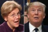 Elizabeth Warren Donald Trump
